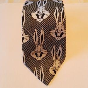 Time Warner Designed by Cervantes tie